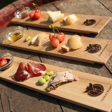 Tagliere in legno naturale personalizzabile LEGNO 37, design nella tua tavola