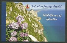 Gibraltar 2004 Local Flowers prestige booklet--Attractive Topical (992a) MNH