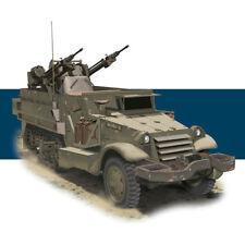 DRAGON 3586 IDF M3 Half Track w/ 20cm Anti Aircraft Dun 1:35 Military Model Kit