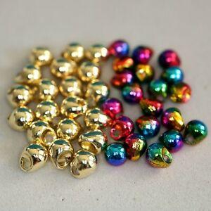 Tungsten OFF Beads Jig Perlen 20 Stück Gold & Rainbow  2,8 - 3,3 - 4,0 - 4,6mm