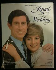 Invitation to A Royal Wedding-Charles and Diana- by Kathryn Spink-Many PICTURES!