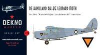 De Havilland DH-85 Leopard Moth - KLu/RAF - DEKNO models- 1/72 - resin kit