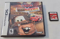 Nintendo DS Game Cartridge Cars Mater National