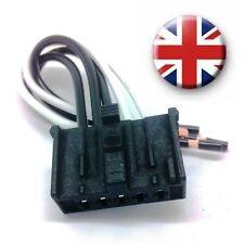 Fiat Fiorino Qubo Heater Resistor Wiring Harness Loom Repair Kit Connector plug