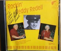 Teddy Redell : Rockin' - Autographed on Front Inlay - 30 Track  CD Album