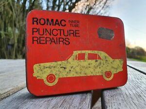 Vintage Old Romac Puncture Repair Tin