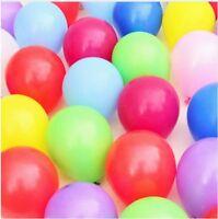 "10-200 10"" Latex Balloon Gold, Silver, Pink, Green Helium Birthday party balloon"