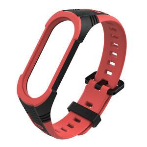 Multicolor Silicon Strap Bracelet Wristband Replacement For Xiaomi MI Band 4 5 6