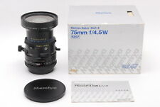 Read Mamiya Sekor SHIFT Z 75mm f/4.5 W Lens for RZ67 Pro II From JAPAN