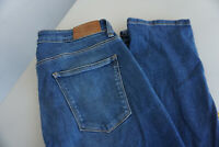 ESPRIT Damen Jeans straight stretch Hose 30/32 W30 L32 stonewashed blau TOP #AC2