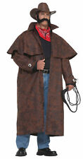 Big Tex Adult Men's Cowboy Costume Brown Duster Forum Novelties