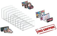 Palette Vanity Organizer Makeup Cosmetics Accessories Storage Holder Clear Face