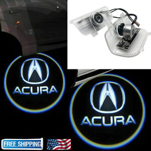 For Acura TSX 2009-2014 2x LED Laser Door Logo Ghost Shadow Projector Lights
