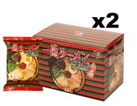 ICHIRAN Ramen, Tonkotsu, Curly Noodles w/ Red Dry Sauce, 10 Meals (2 Box)