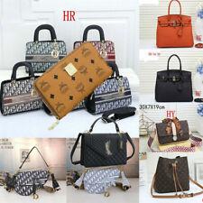 Hochwertige Unisex Modetasche Handtasche Rucksack Brieftasche Damentaschen Gift