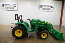 JOHN DEERE 3203 TRACTOR LOADER HST, OPEN ROPS, 32HP, 4x4, CLEAN, ONLY 626 HOURS!