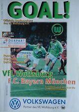 Programm BL 1997/98 VfL Wolfsburg - Bayern München
