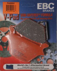 EBC Semi-Sintered V Brake Pads / One Pair (FA200V)