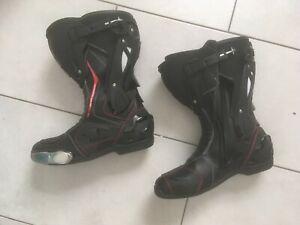 Unisex Sportler Ganzj/ährig FLM Motorradschuhe Herren /& Damen Motorradstiefel kurz Sports Schuh wasserdicht 1.1 Leder//Textil