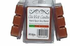 ChicWick Candles 3Pk Into the Woods Soyblend Wax melts 9oz 18 Cubes, Wax Tarts