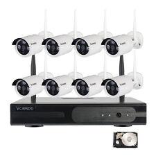 CCTV de interior al aire libre cámara IP inalámbrica sistemas de vigilancia 4TB