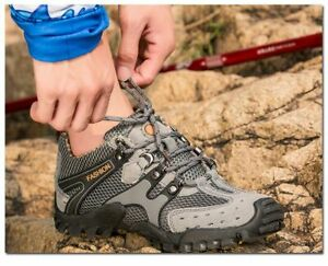 Hiking Shoes Breathable Casual Trekking Men Sneakers Mountain Climbing Outdoor