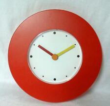 Post Mid Century Modern Memphis Wall Clock
