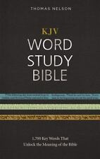 KJV, Word Study Bible, Hardcover, Red Letter Edition : 1,700 Key Words That...