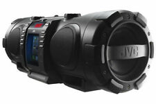 JVC RVNB75B Portable CD Boomblaster With Lightning Dock & Bluetooth - Black