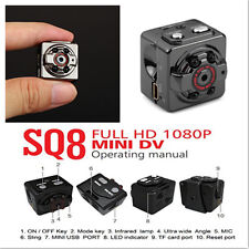 Full HD 1080P Mini Cam Sport DV Spy Hidden Motion Detectors Night Vision Cameras