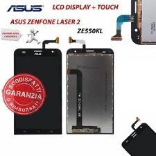 LCD ASUS ZENFONE 2 LASER ZE550KL Z00LD DISPLAY TOUCH SCREEN VETRO NERO SCHERMO