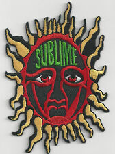 Sublime - Sun / Red Face - Iron On or Sew On Patch