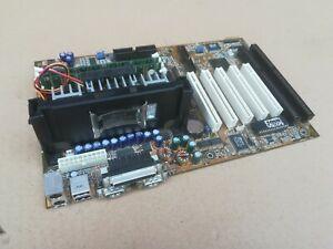 vintage SLOT1 ASUS-mainboard P2B-F + SL3XK CPU Pentium III 650MHz + 128MB RAM