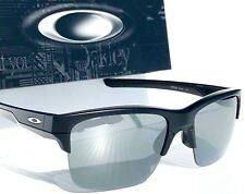 NEW* Oakley THINLINK BLACK polished 2 Black Iridum Lens Sunglass oo9316-03