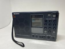 Sony ICF-SW7600 Short Wave Stereo Synthesized Receiver World Radio Band Works