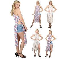 Petite Crew Neck Floral Maxi Dresses for Women
