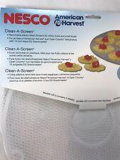 Nesco american harvest clean A-Screen tray  (2 Pack ) dehydrators model LM-2