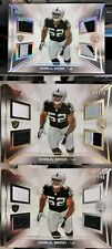Khalil Mack 2014 Topps Prime Rookie Relic Lot SPP #/10 BEARS RAIDERS ROOKIE
