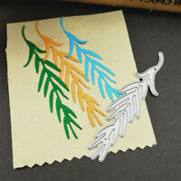 Metal Dies Weeping Willow Cutting Dies Stencil DIY Photo Album Card Embossing YK