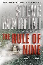 The Rule of Nine by Steve Martini (2010, Hardback)