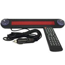 12v Car Red Led Programmable Message Sign Scrolling Display Board Multilanguages