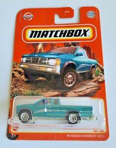 Matchbox '95 Nissan Hardbody D21 - Green #38 38/100 2021 Basic Car