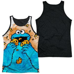 "Sesame Street ""Cookie Crumbs"" Dye Sublimation Sleeveless Tank"