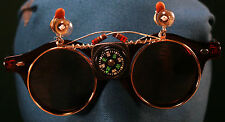 Flip-Up Shades Double Lens Glasses ~ Eclectical Engineer Eccentric Nerd Costume