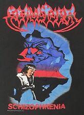 VTG Sepultura Schizophrenia Tour 1990 T Shirt Large Blue Grape