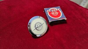 NOS 1956 60 Ford Truck White Steering Wheel Horn Button Nicco De Luxe VTG F100