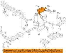VW VOLKSWAGEN OEM 2018 Passat Exhaust-Pre-Muffler Resonator & Pipe 561253609AD