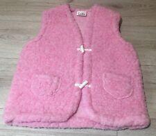 100% MERINO WOOL Baby Boy Girl Kids Gilet Body Warmer Vest 6-8 YEARS (v34) L