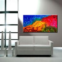 Abstract Painting Oil Modern Original Large Home 3D Nature Landscape Canvas XXXL