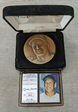 Mickey Mantle 1994-98 Highland Mint Magnum Bronze Medallion (2605/3000) Yankees